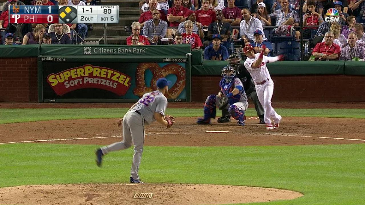 Hernandez's RBI single