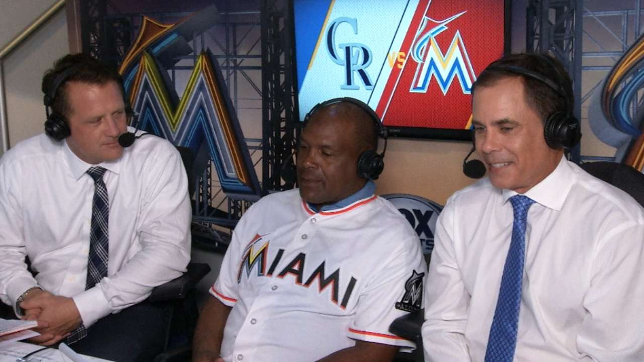 Marlins honor Hall of Famer Raines