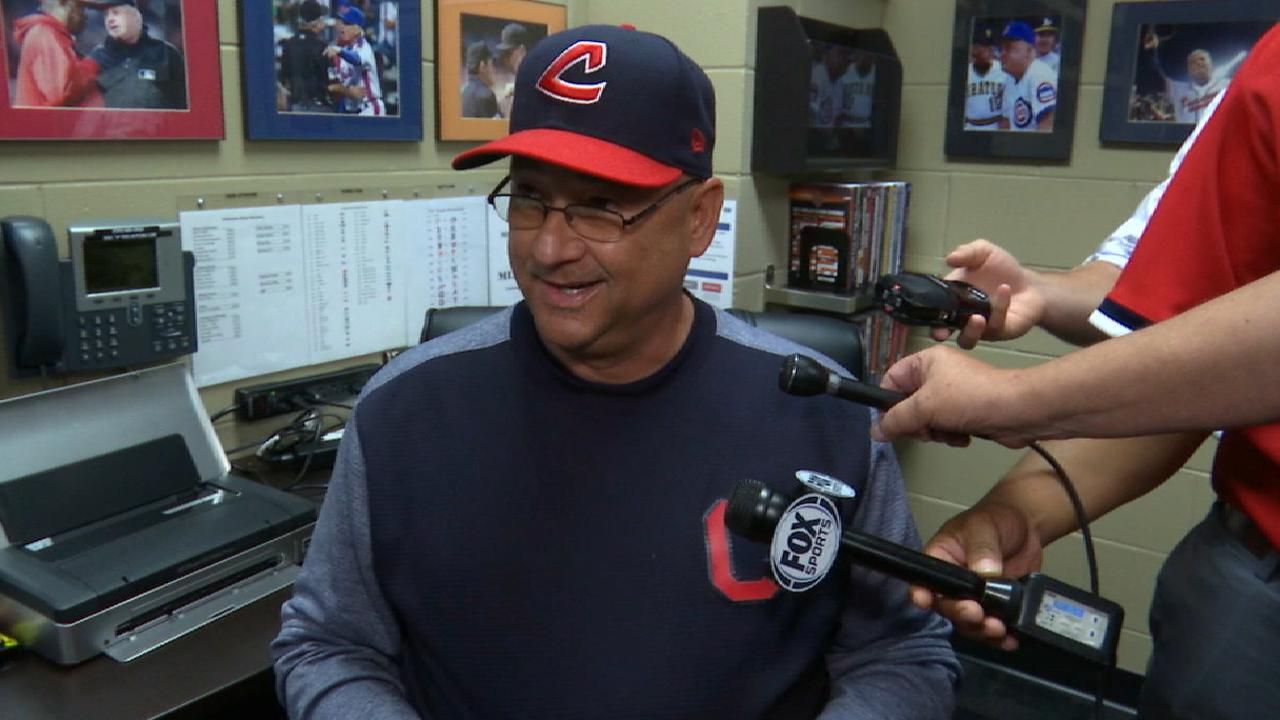 Francona on Bruce's role in win