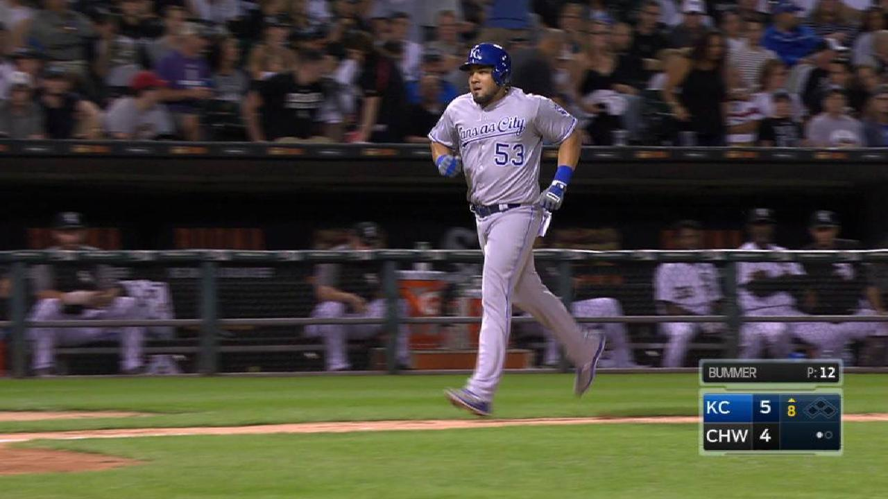 Melky's clutch two-run homer