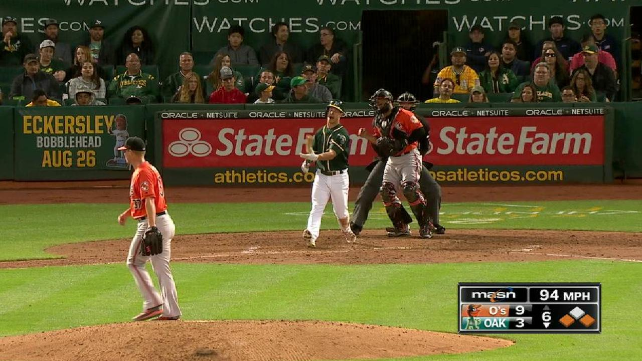 Bundy K's Powell, escapes a jam