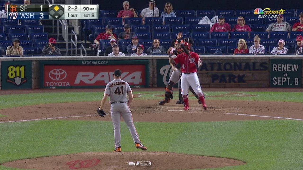 Melancon off DL, pitches scoreless inning