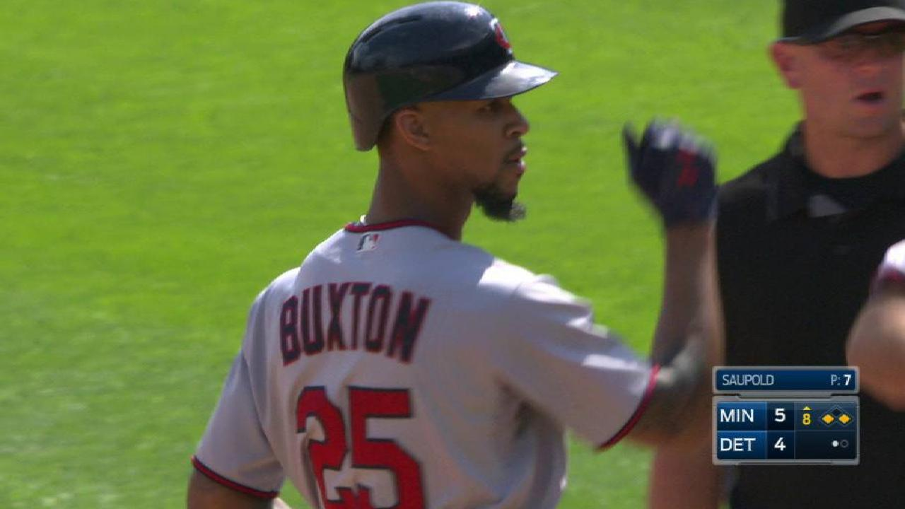 Buxton's go-ahead RBI single