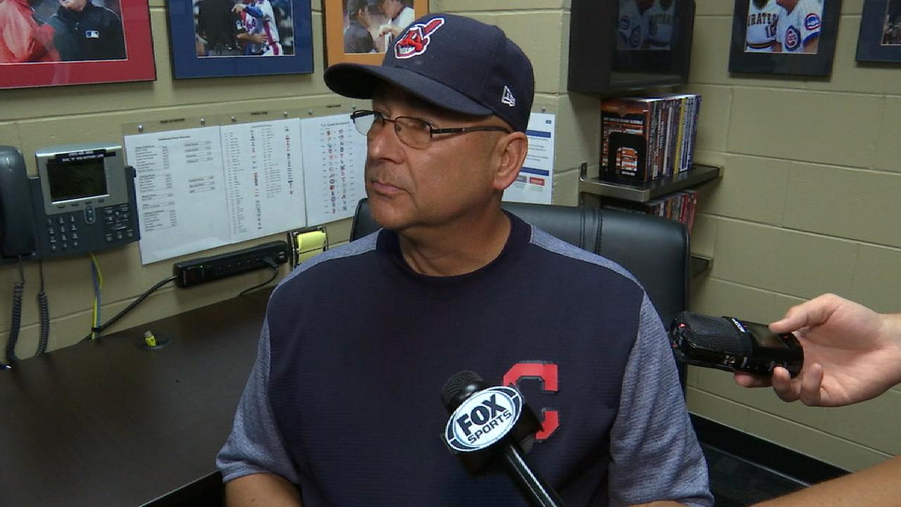 Francona on Kluber, the 4-3 win