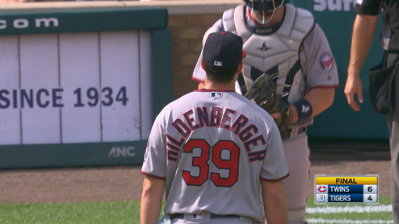 Hildenberger gets four-out save