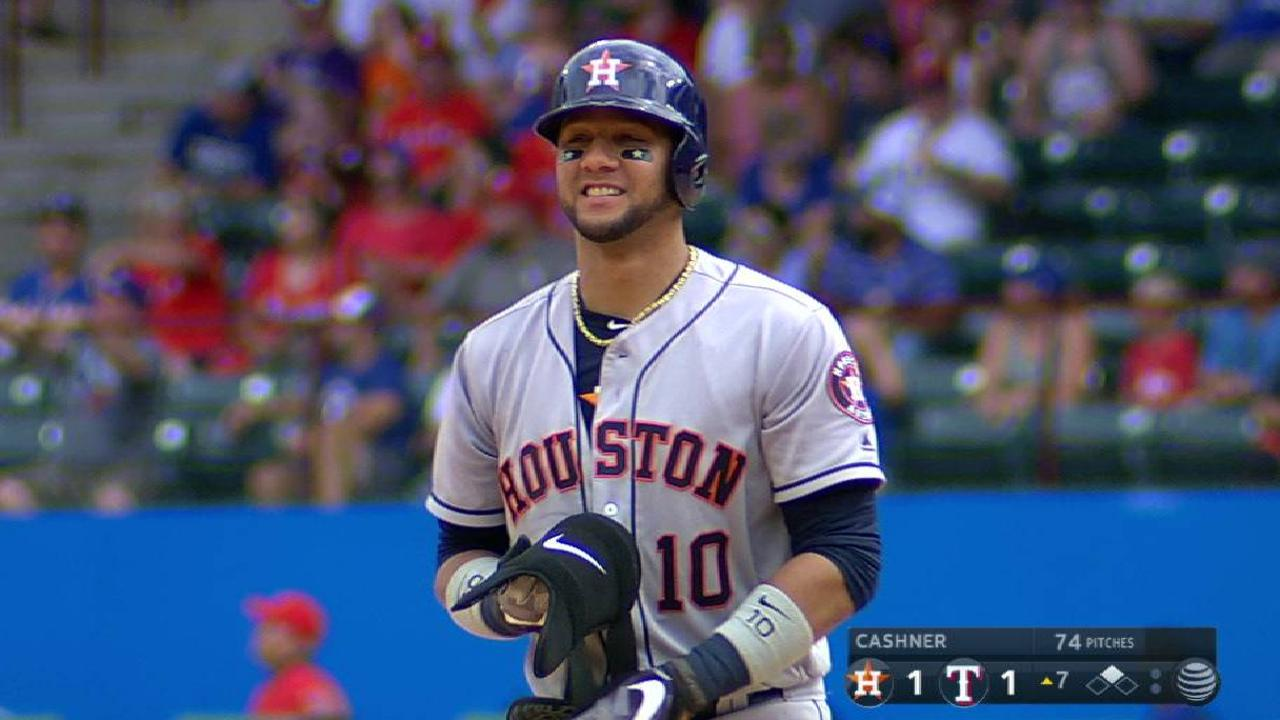 Gurriel's record-setting double