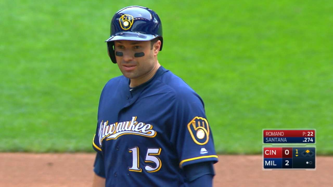 Shaw's absence gives Walker Brewers debut