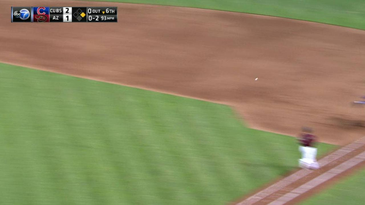 Arrieta induces big double play