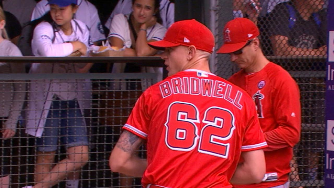 Unheralded rookie Bridwell continues to impress