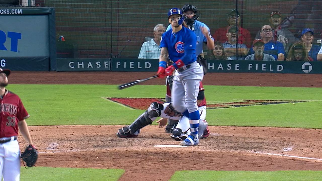 Baez's three-run shot