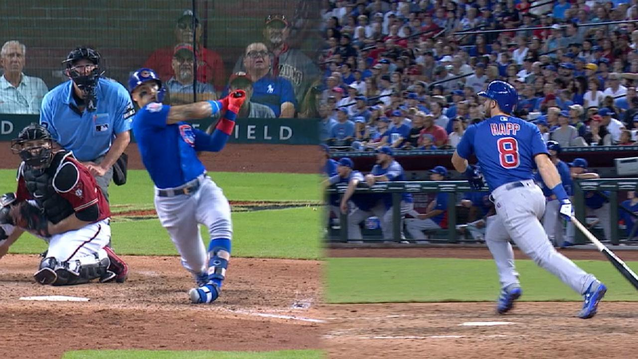 Cubs thump D-backs, back atop Central alone