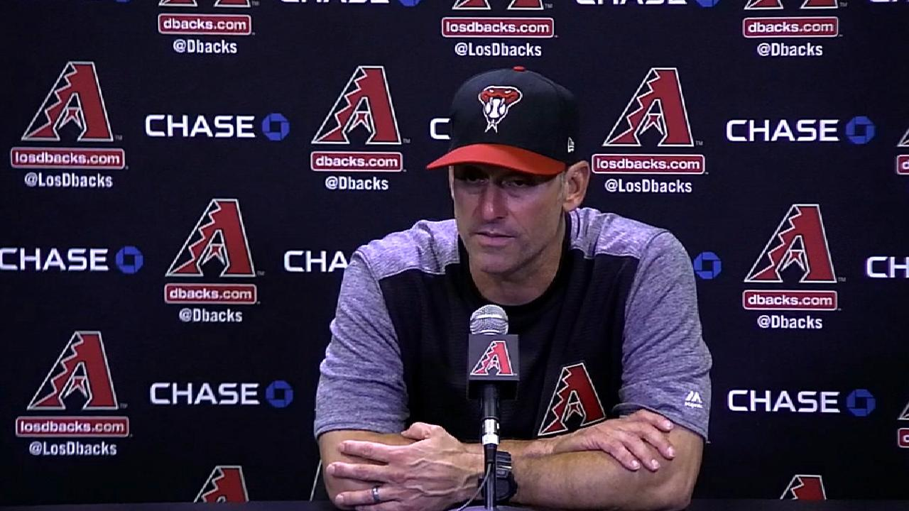 Lovullo on the 7-2 loss