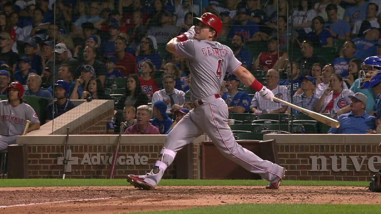 Reds can't contain Cubs in opener at Wrigley