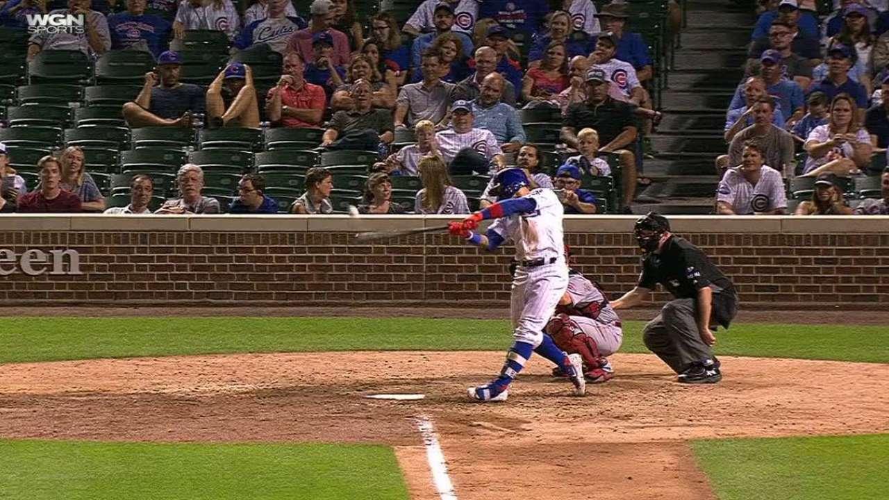 Baez's two-run homer