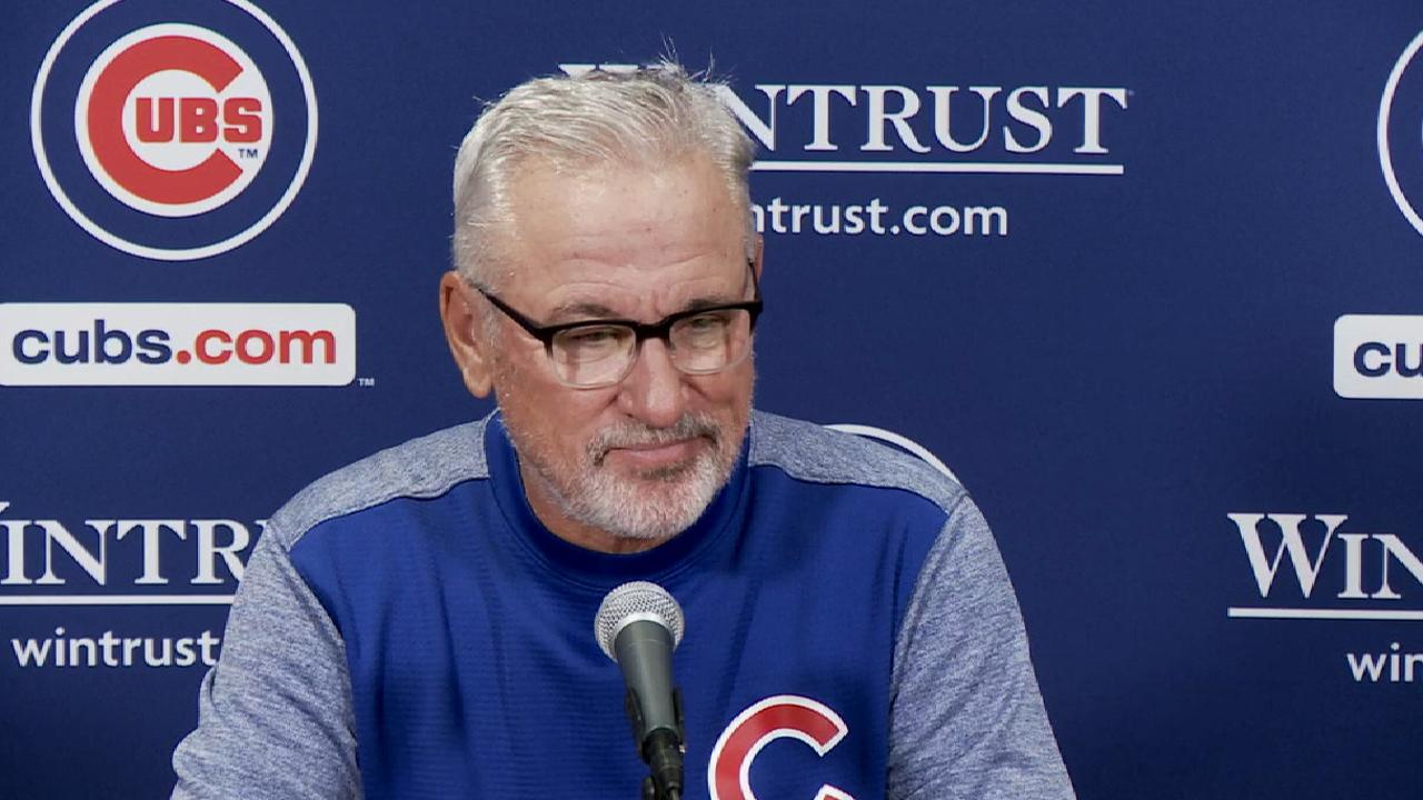 Maddon on defensive strategy
