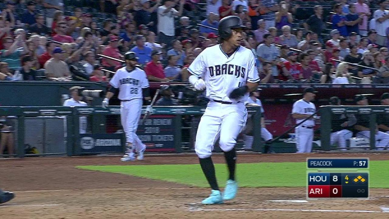 D-backs unable to rally out of big hole vs. Astros