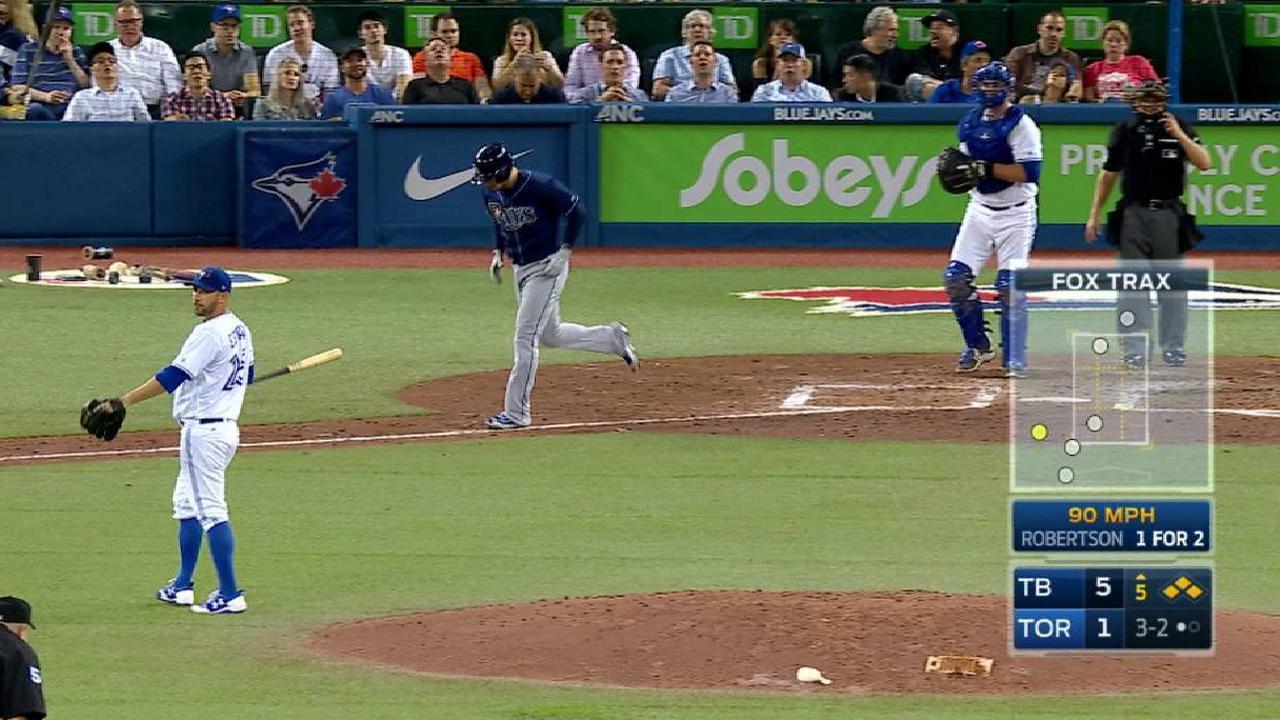 Robertson's bases-loaded walk