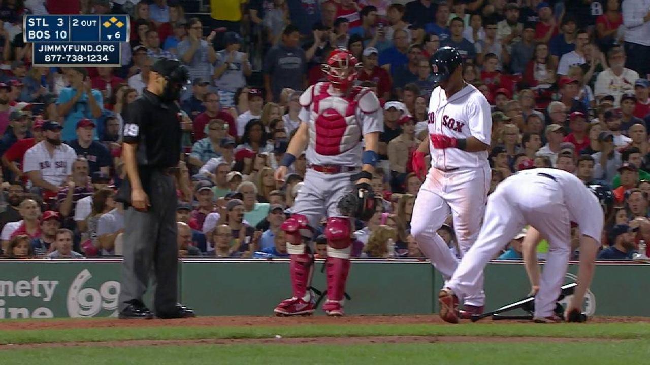 Bradley Jr.'s bases-loaded walk