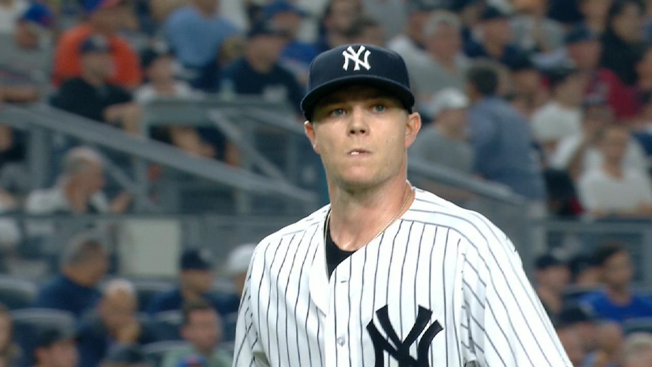 With Yanks' rotation depth tested, Gray delivers