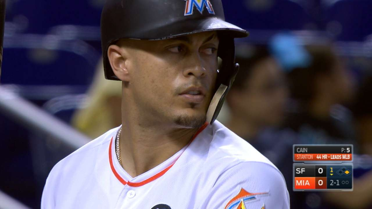 Inbox: What are Marlins' options for Stanton?