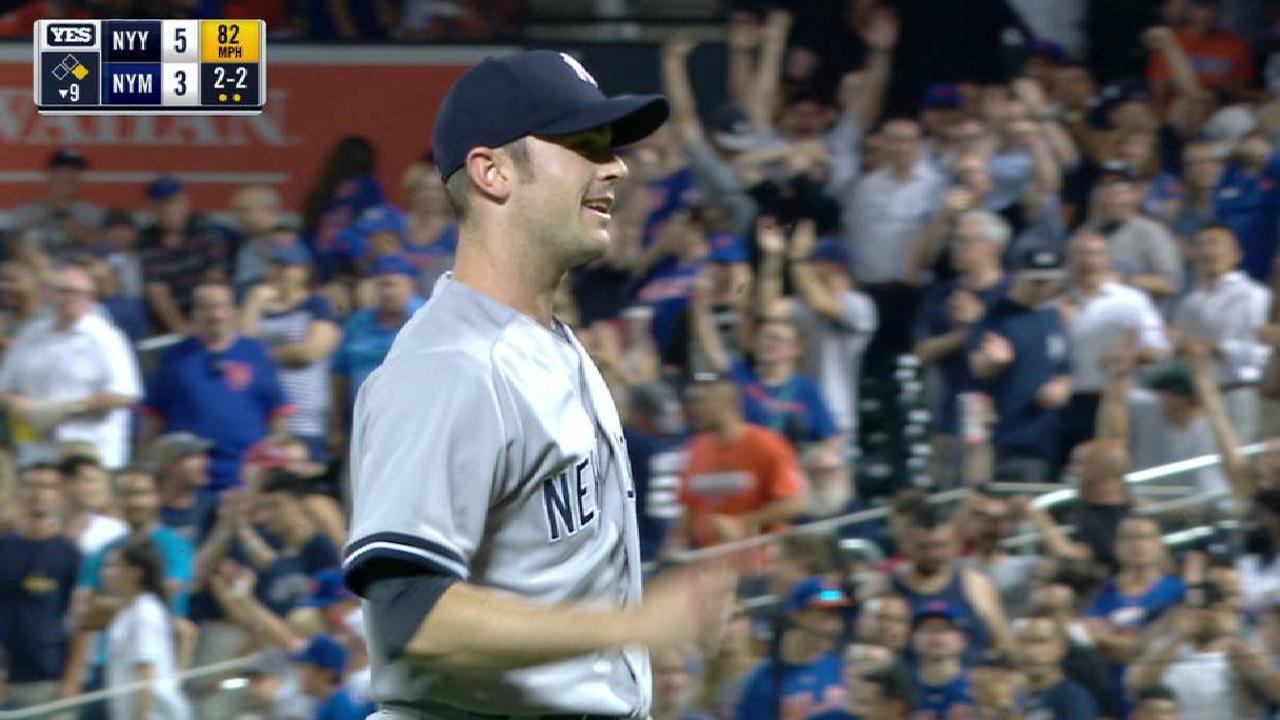 Rebuilt Yankees 'pen is game's scariest unit