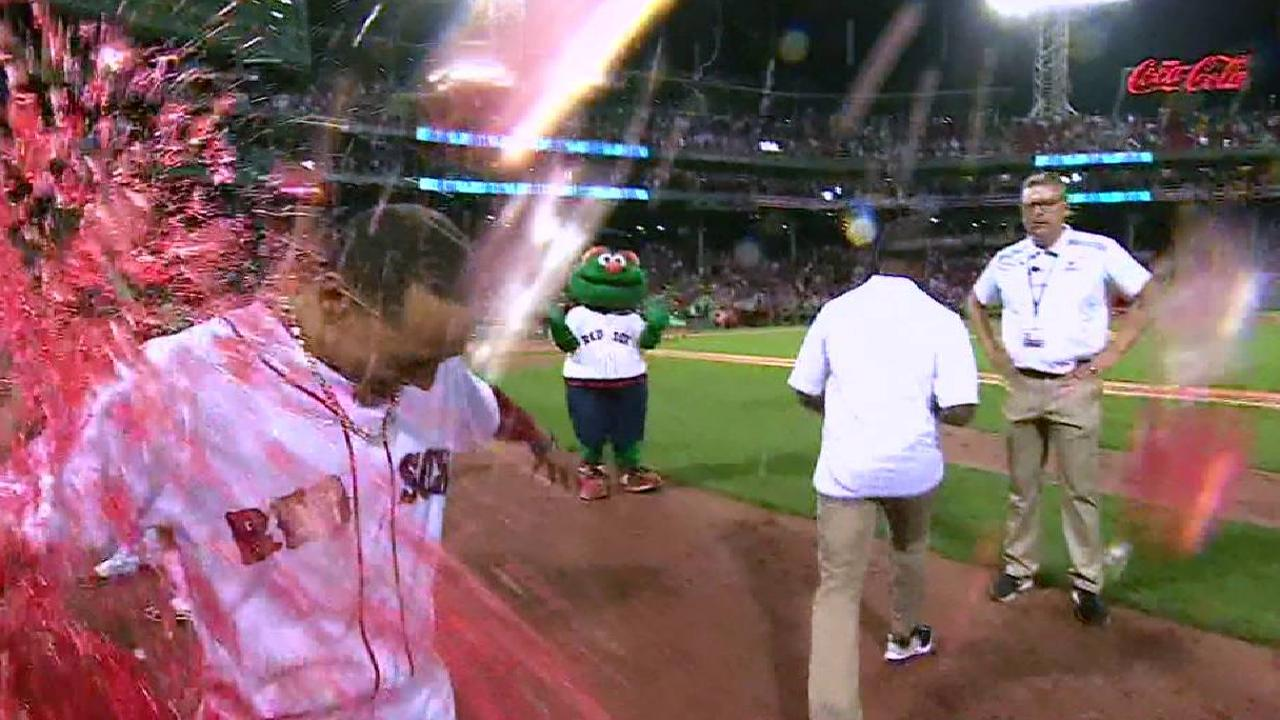 Betts on walk-off win over Cards