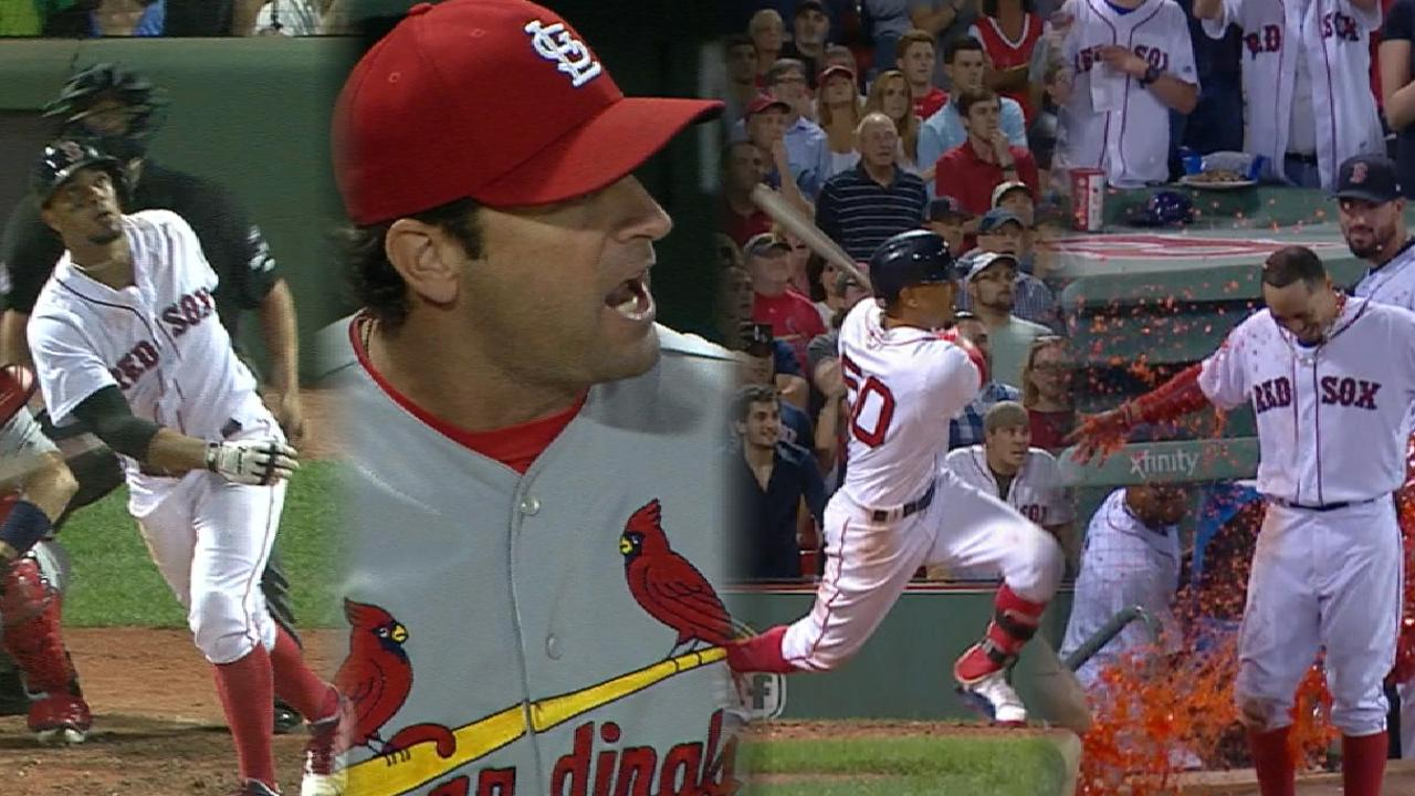 Loud 9th: Sox hit Cards with their Betts shot