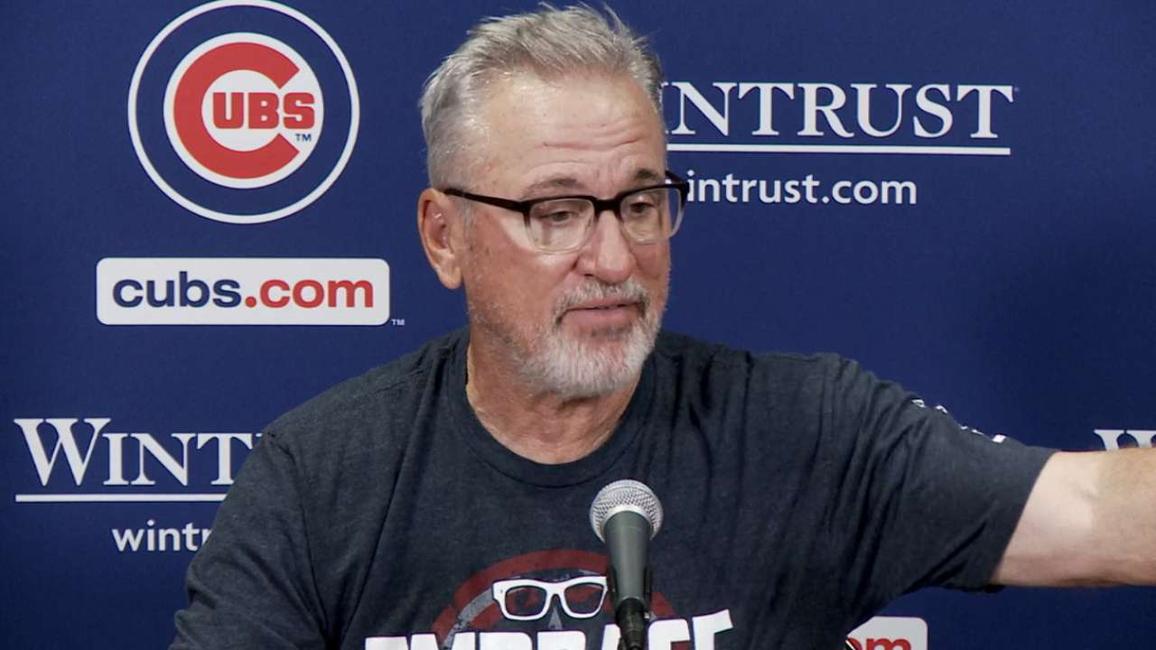 Maddon on 13-10 loss to Reds