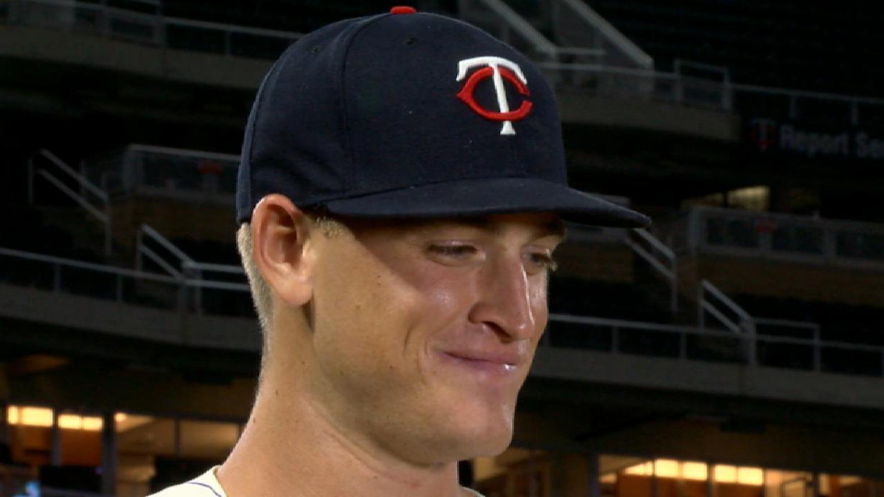 Slegers on MLB debut