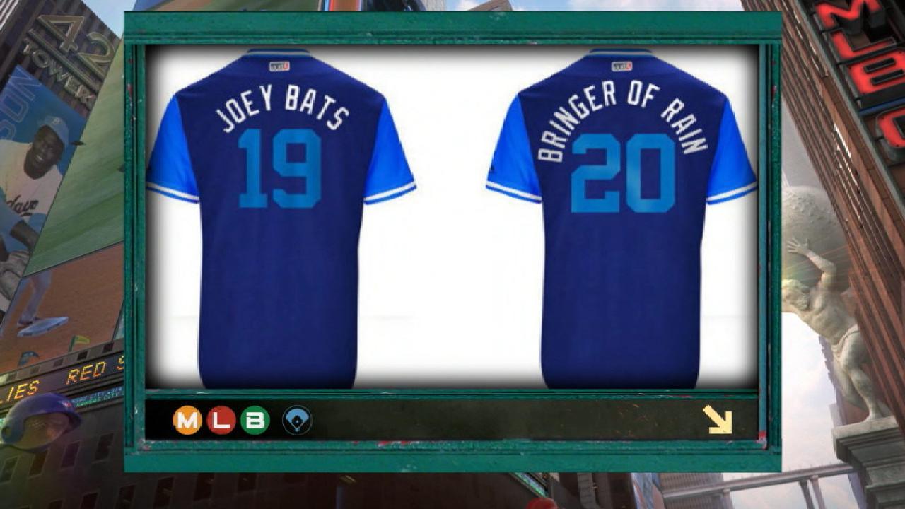 Bautista on jersey nicknames
