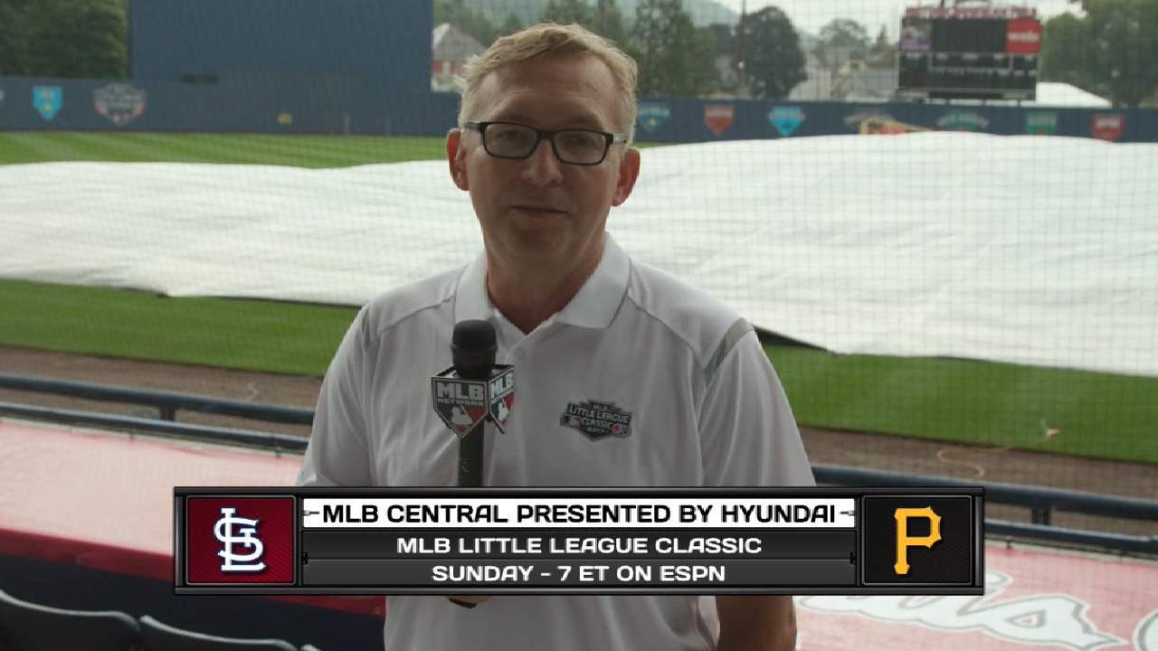 Cook on Little League Classic