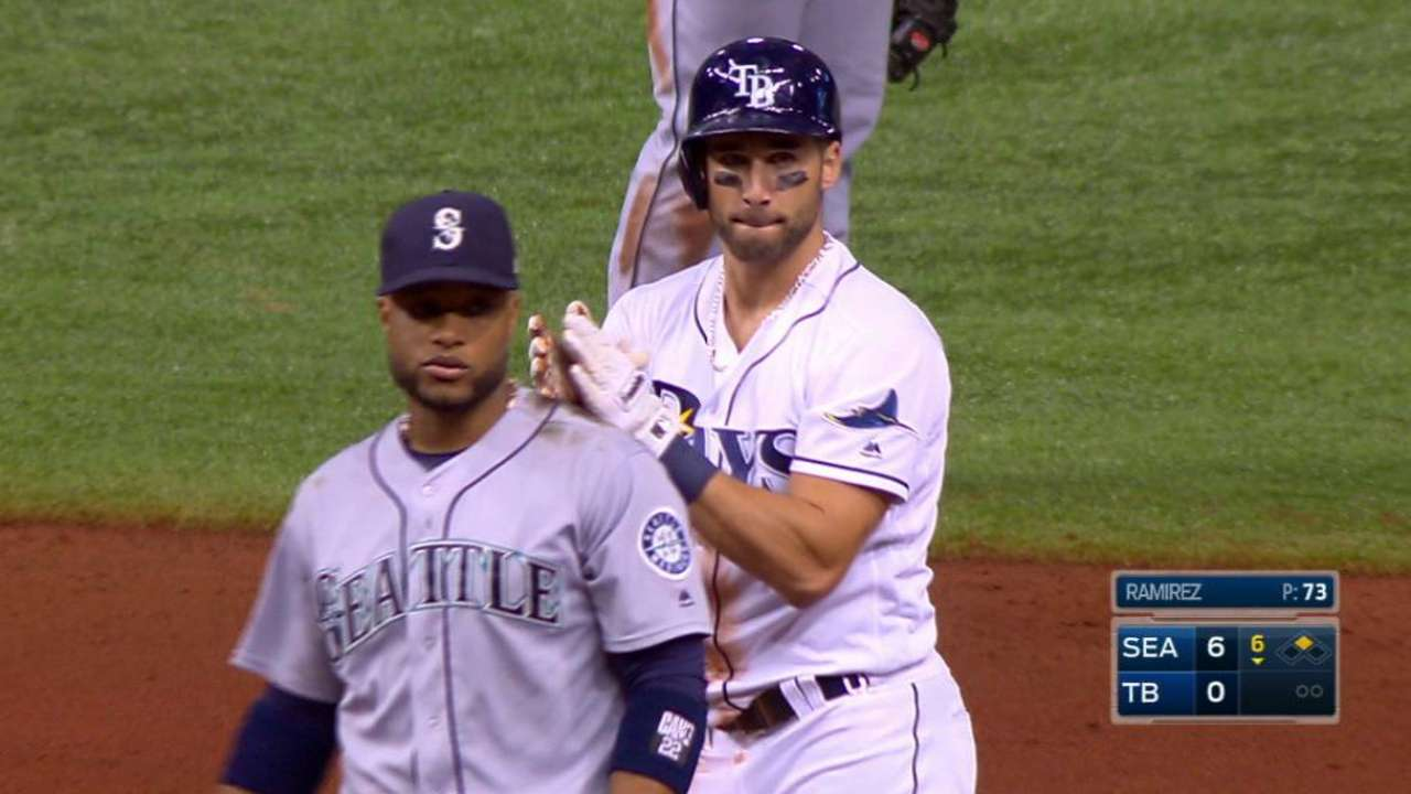 Kiermaier hustles out of gate upon activation