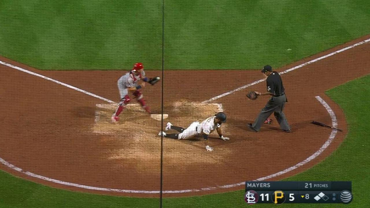 Bell's RBI double to center