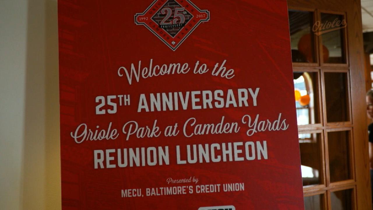 O's celebrate 25th anniversary of Oriole Park