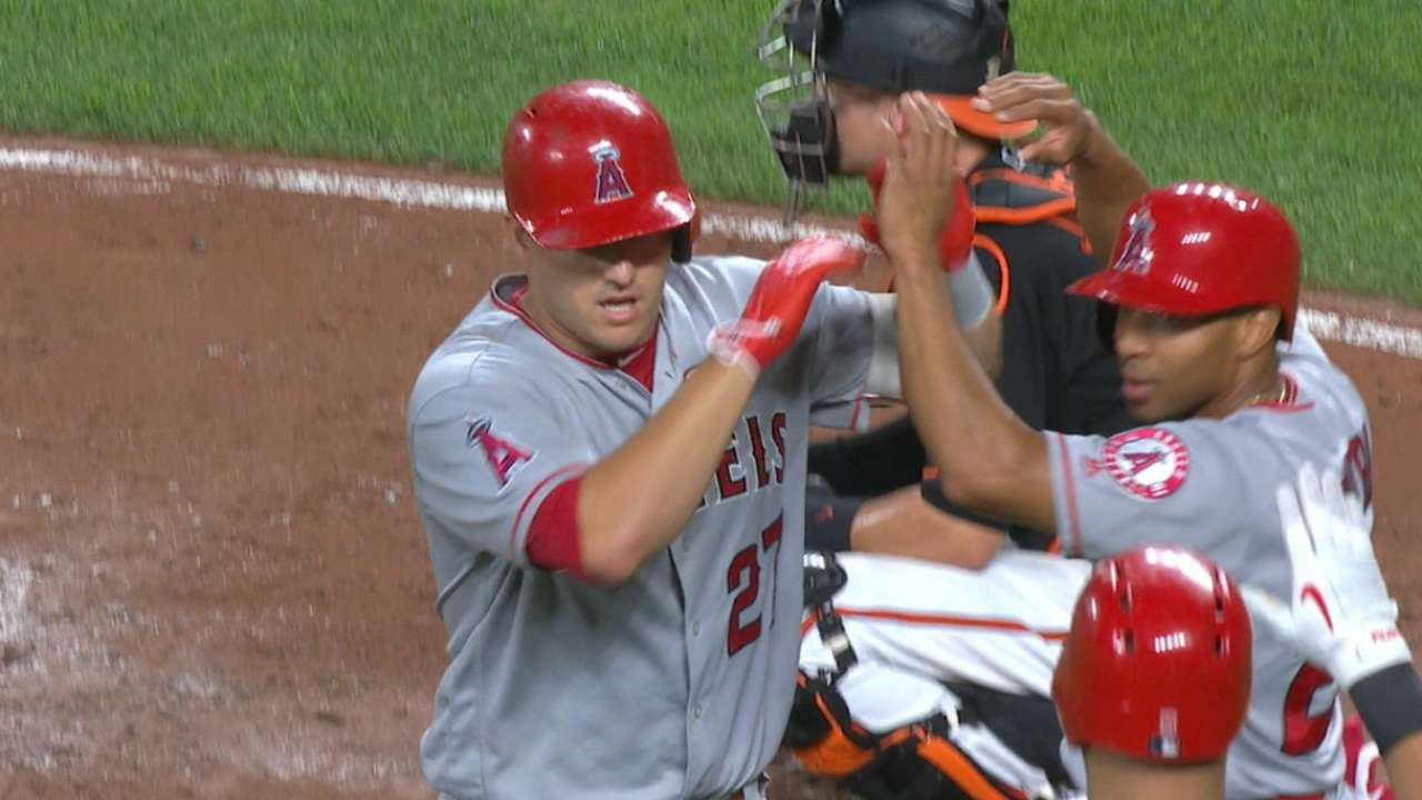 Leader Watch: Trout's historic OPS+ bid