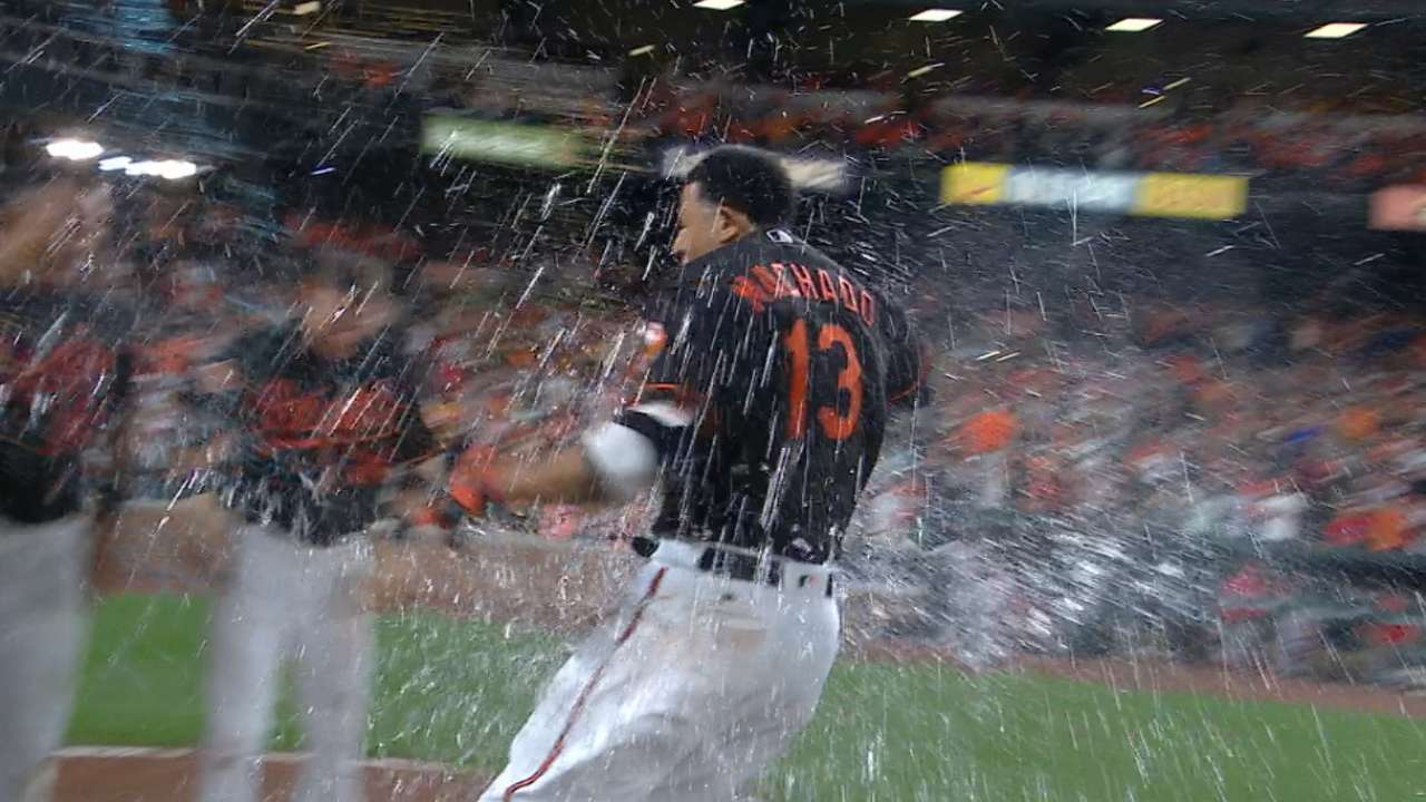 Radio Call: Machado's walk-off