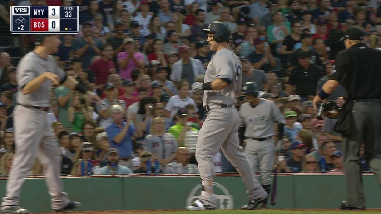 Homers off Sale hold up as Yanks hold off Sox