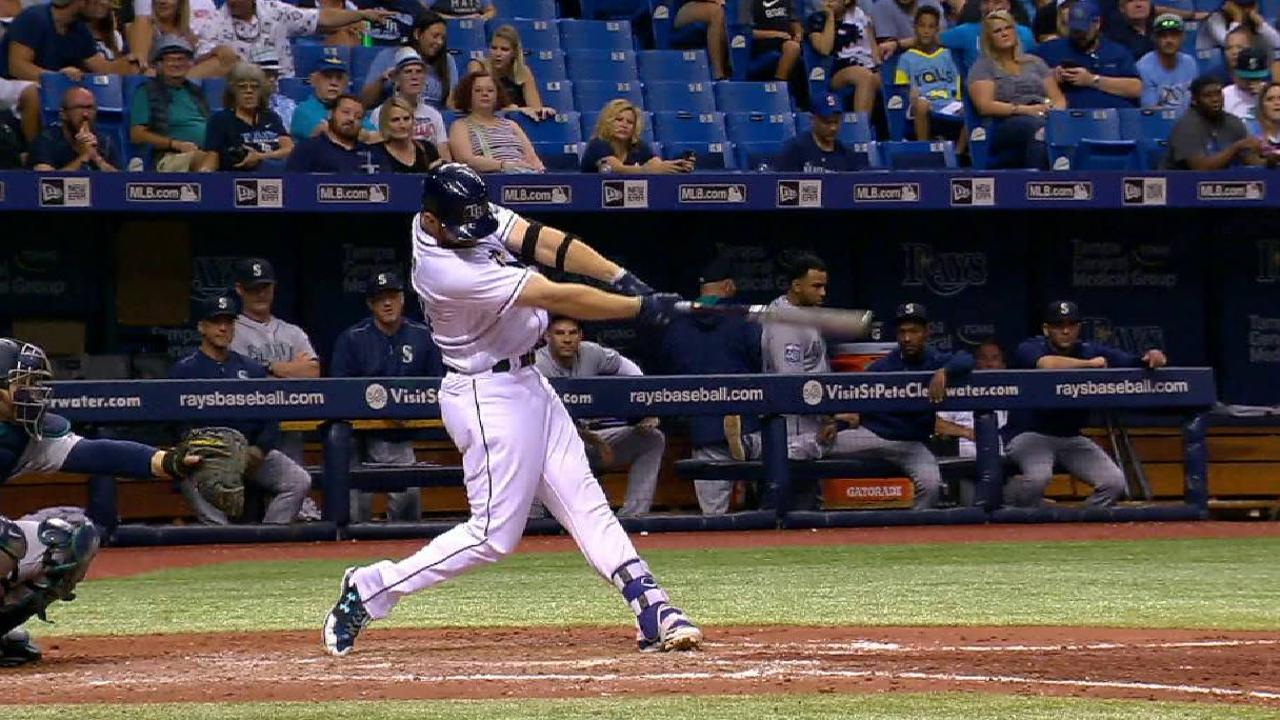 Rays awaken with 3 HRs, but rally falls short