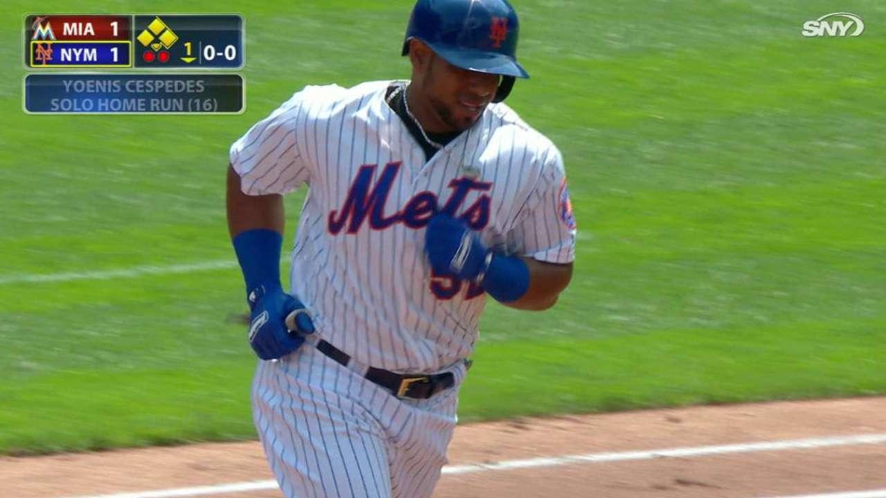 Mets vuelven a caer a pesar de ofensiva de Céspedes