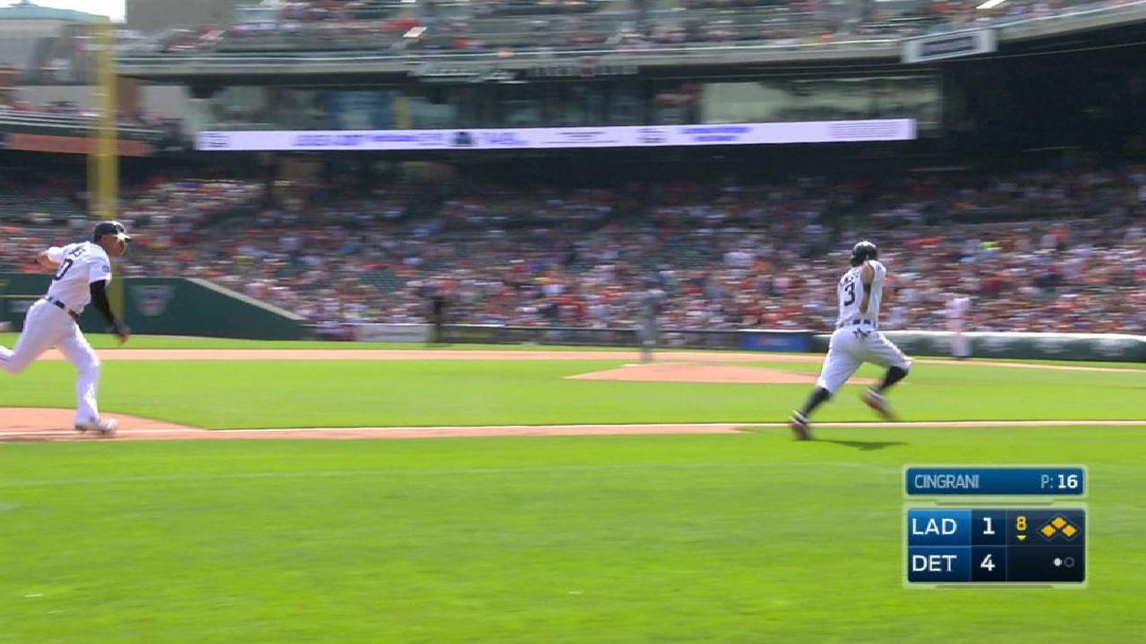 Cabrera's two-run double