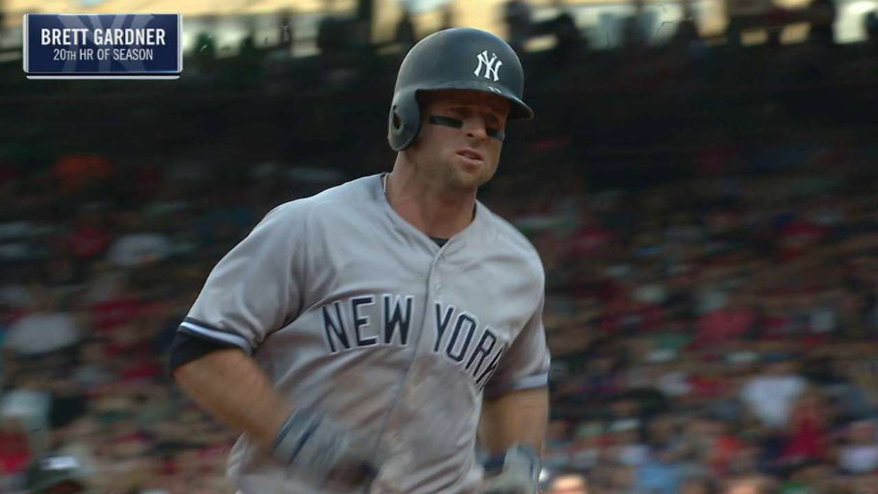 Yanks hope Gardner powers up down stretch