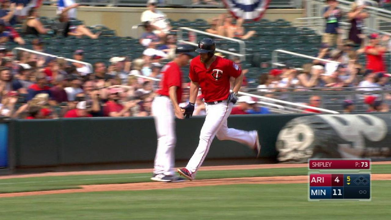 Gimenez's solo homer in the 5th