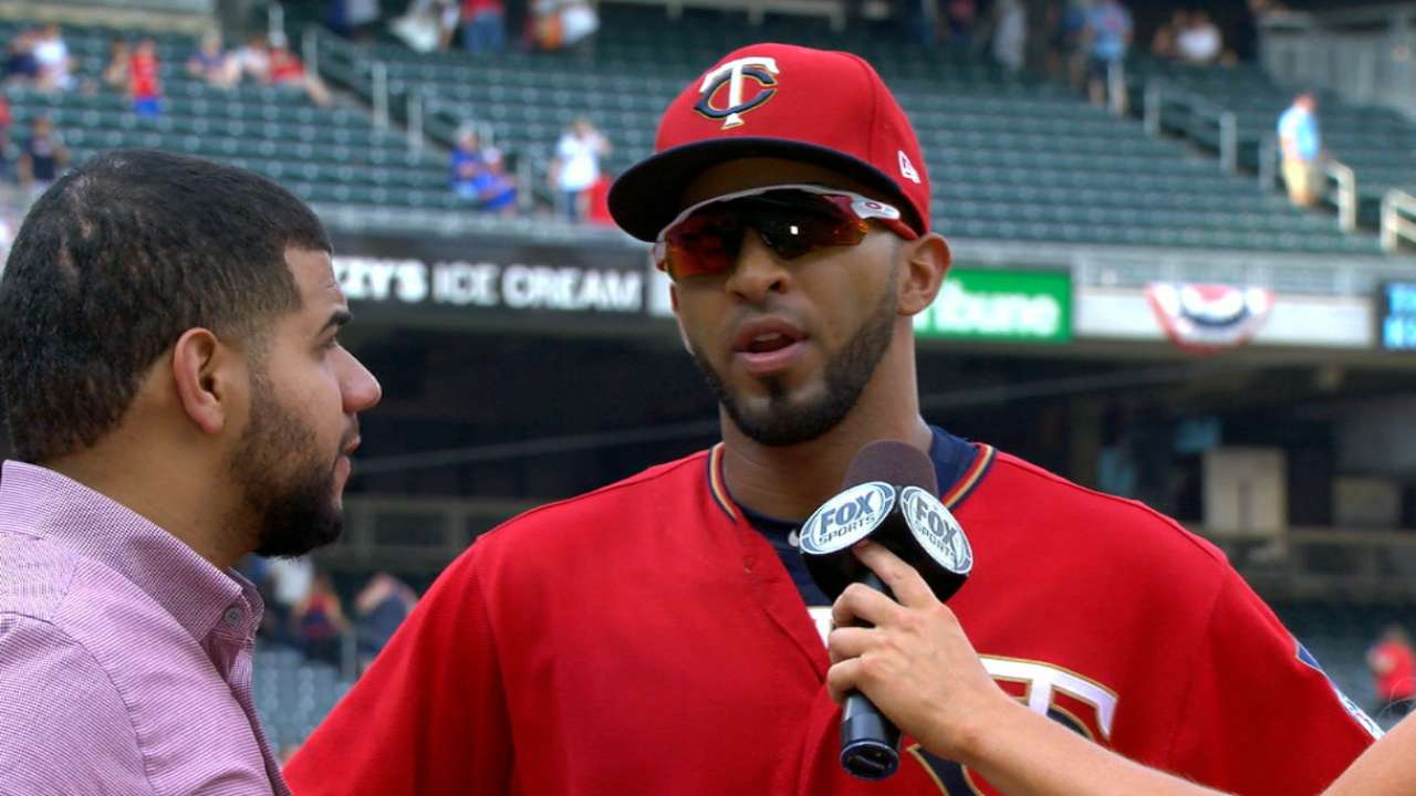 Rosario on big day for Twins