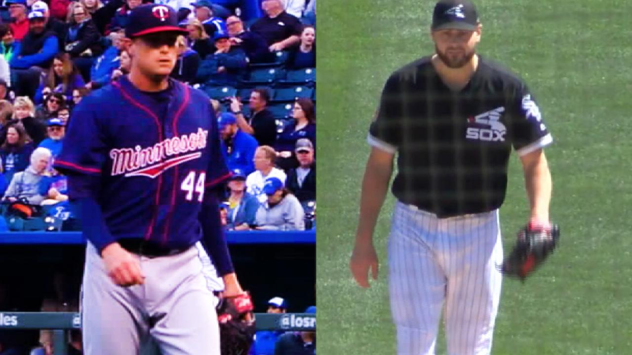 Prospect Giolito gets Twins in White Sox debut