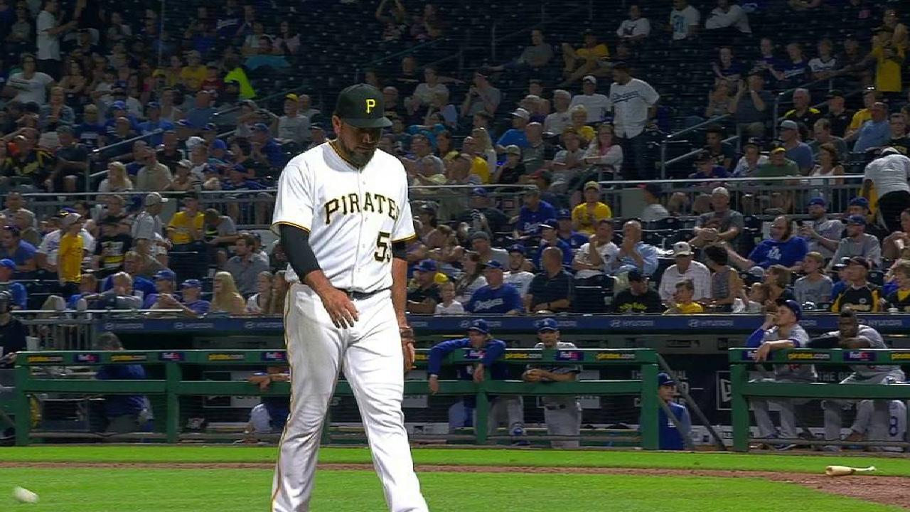 Pirates need to stretch arms against Dodgers