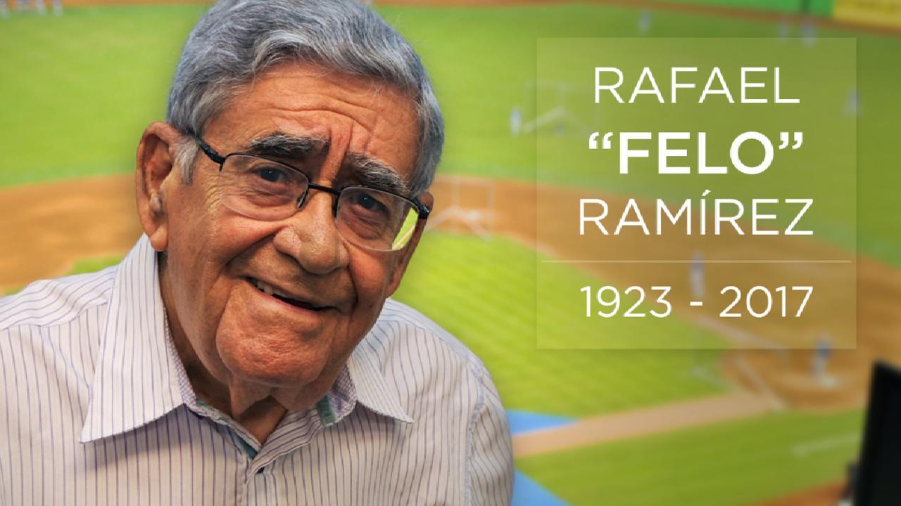Paying tribute to Felo Ramirez