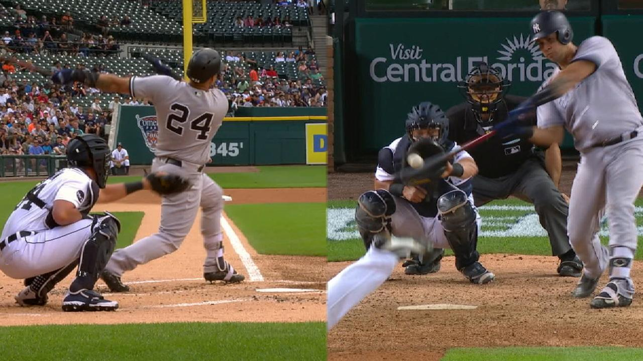 Must C: Sanchez's two HRs