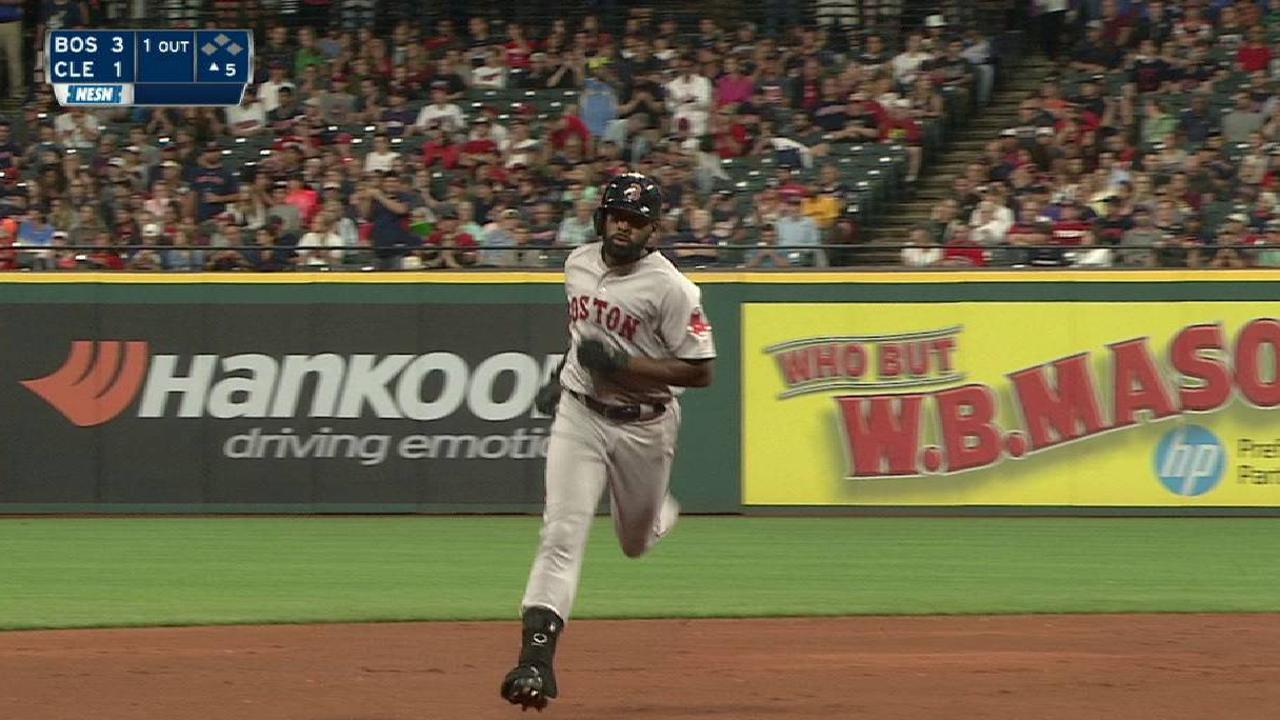 Bradley Jr.'s solo home run