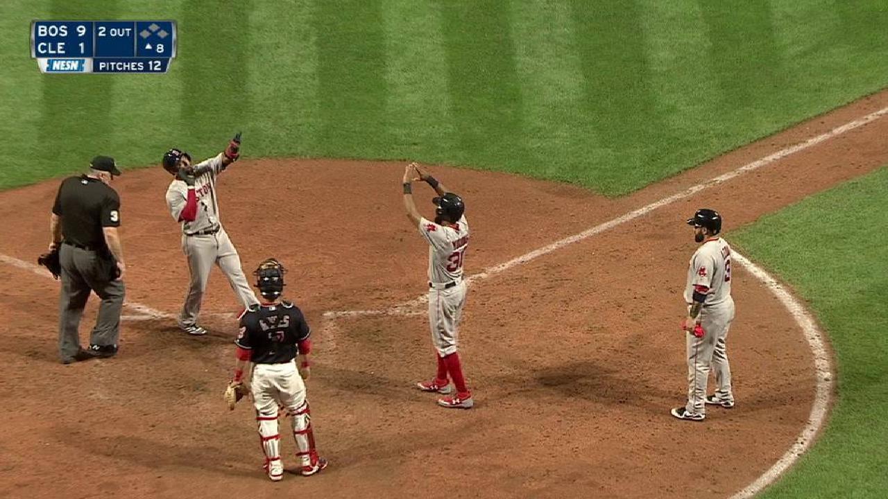 Fister lanza joya de un hit contra la Tribu y Boston apalea
