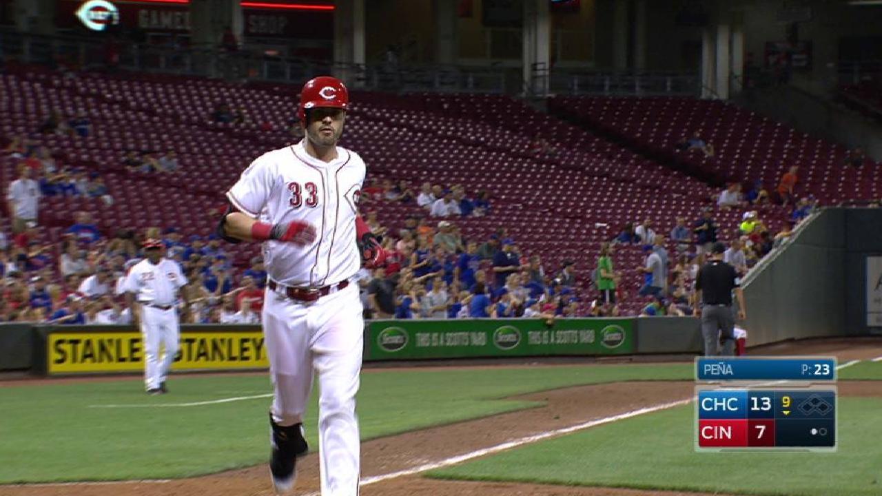 Winker's solo home run